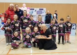 Юные хоккеистки приняли участие в Турнире по хоккею с шайбой