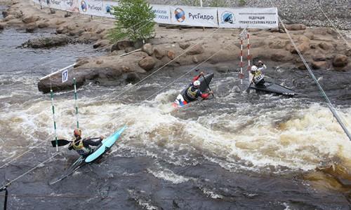 Cпортсмены СШОР успешно выступили на Кубке России по гребному слалому