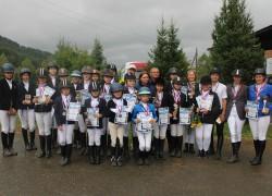 Традиционные соревнования по конному спорту на приз кубка мэра состоялись в честь Дня города.