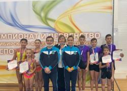 Сборная Республики Алтай стала победителями в межрегиональных соревнованиях по спортивной акробатике
