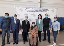 Открытый чемпионат Республики Алтай по настольному теннису среди лиц с ПОДА.