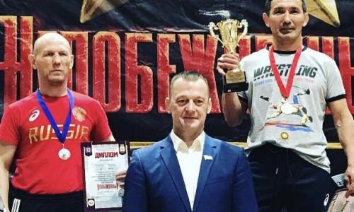 Василий Башпаков завоевал золотую медаль Всероссийские соревнования по греко-римской борьбе.