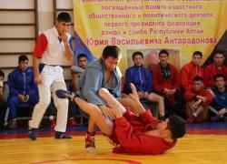 Турнир по самбо памяти Юрия Васильевича Антарадонова прошел в Горно-Алтайске